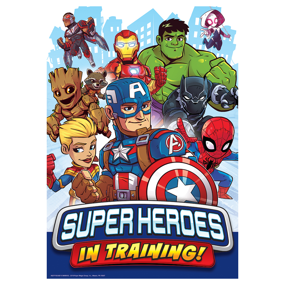 Marvel™ Super Hero Adventure Super Heroes In Training! Poster