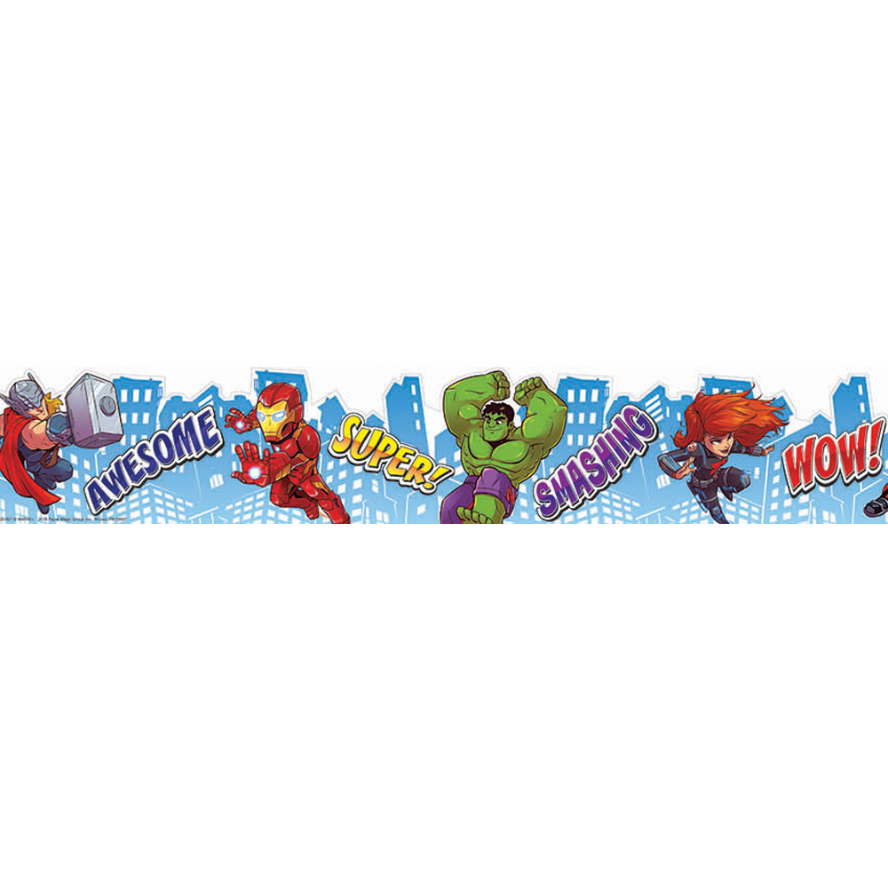 Marvel™ Super Hero Adventure City Scape Wide Deco Trim®