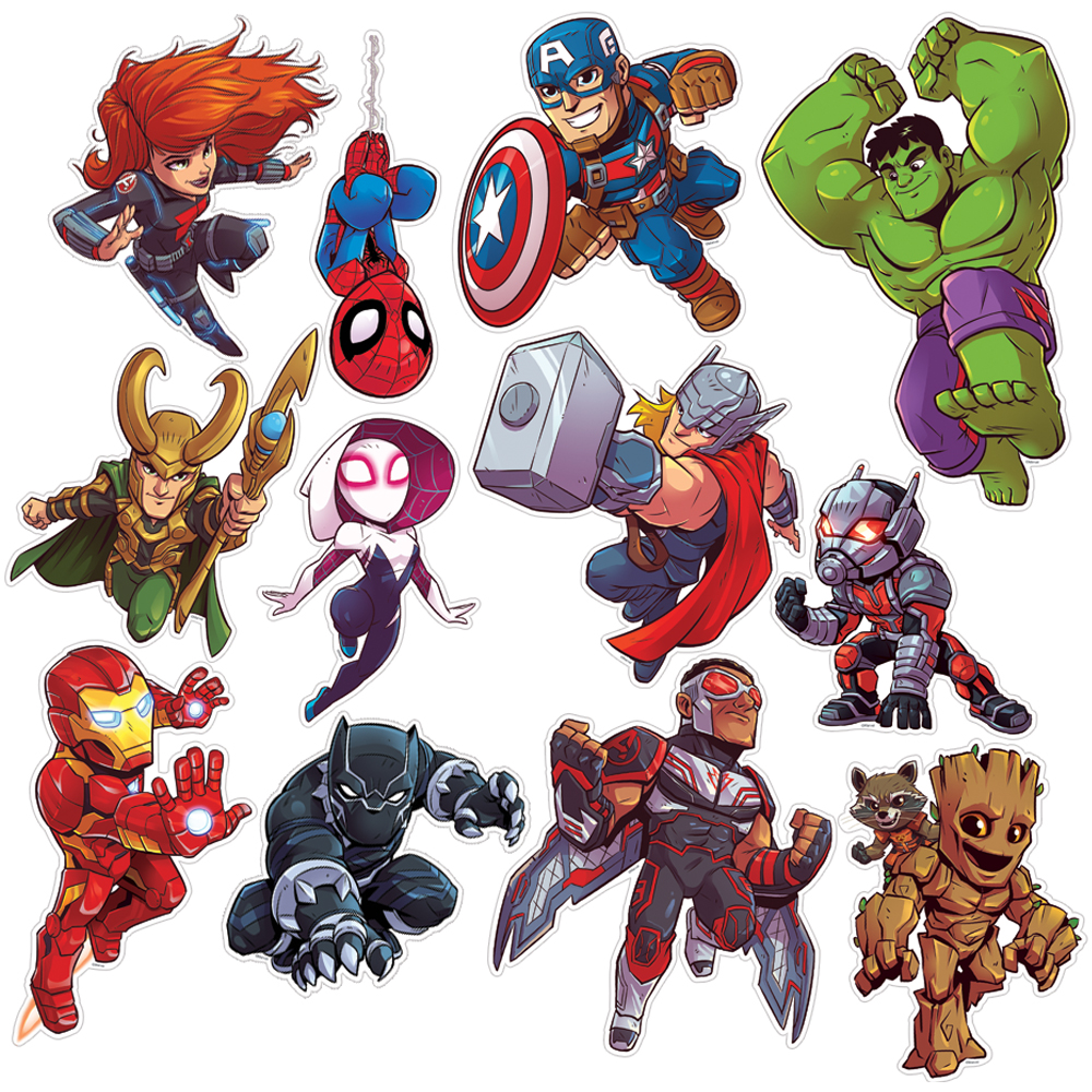 Marvel™ Super Hero Adventure 2-Sided Deco Kit - 12/Pkg