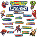 Marvel™ Super Hero Adventure Character Traits Mini Bulletin Board Set