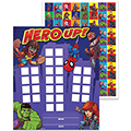 Marvel™ Super Hero Adventure Mini Rewards Charts w/ Stickers - 36/Pkg