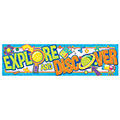 STEM Explore and Discover Horizontal Banner