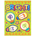 Save 43%     STEM Explore and Discover Light Bulbs Window Clings - CLEARANCE