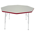 Mahar® Creative Colors Activity Tables - Octagon