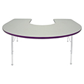 Mahar® Creative Colors Activity Table - Horseshoe
