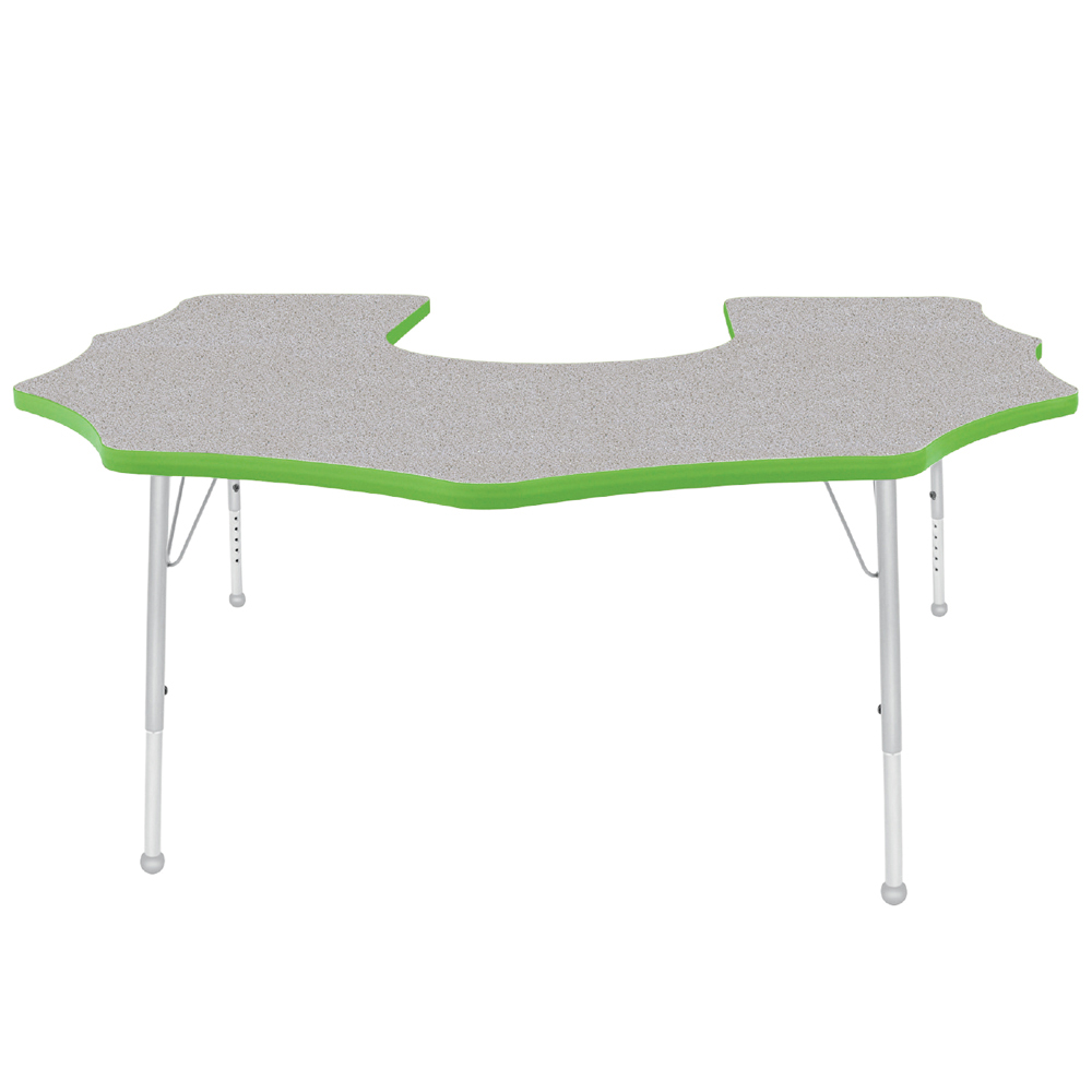Mahar® Creative Colors Activity Table - Scalloped Horseshoe