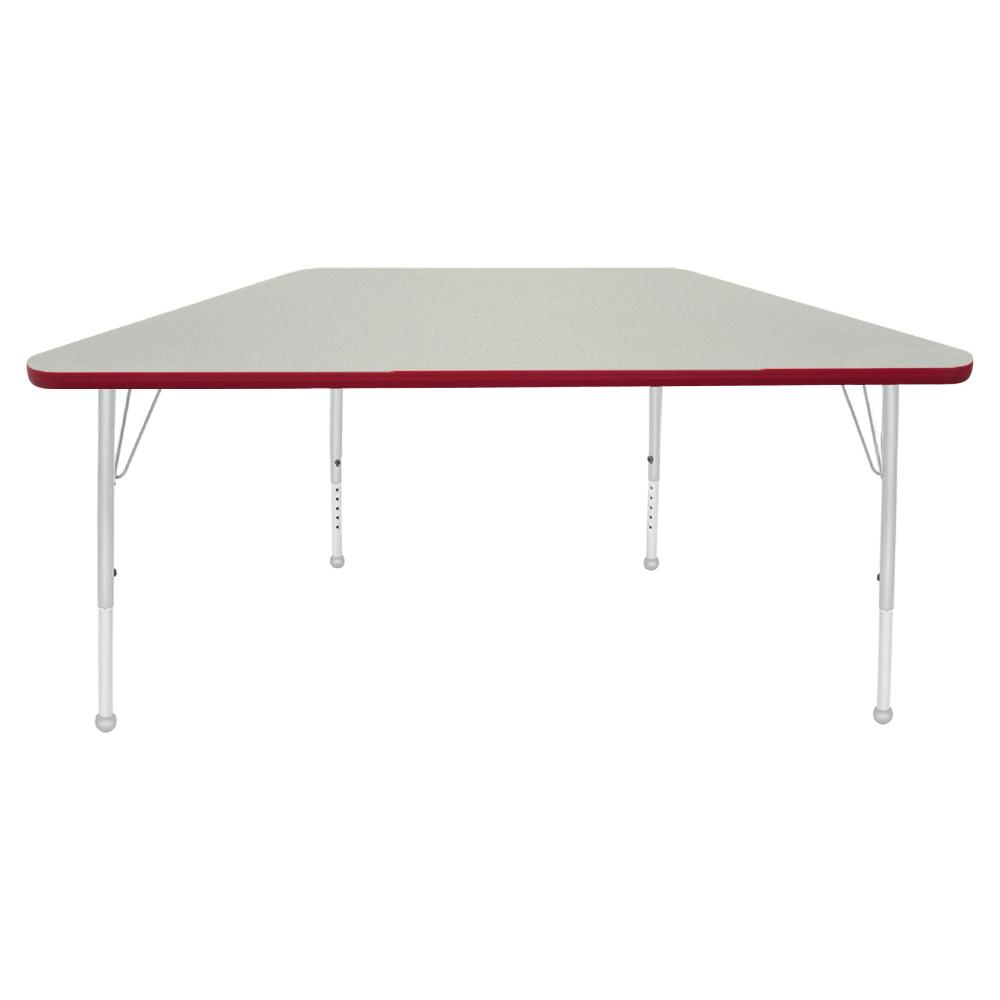 Mahar® Creative Colors Activity Tables - Trapezoid