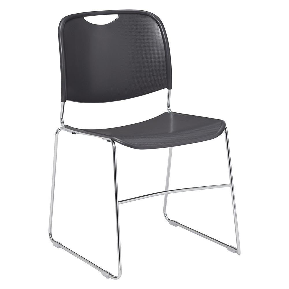 National Public Seating® - Untra-Compact Plastic Stack Chair