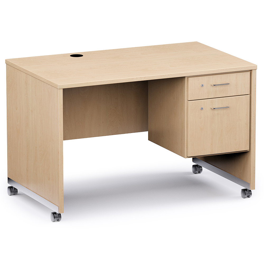 Russwood® Mobile Teacher's Desk