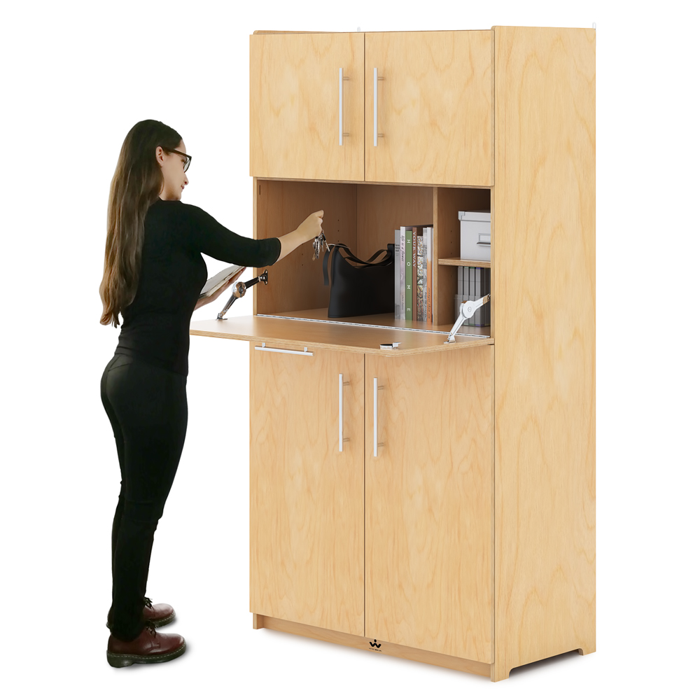 Whitney Brothers® Teachers Work Station Cabinet