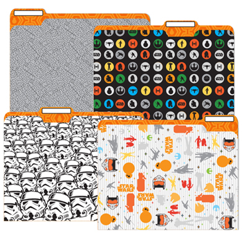 Star Wars™ Classroom File Folders - 4/PkgNew!