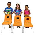 Mahar® Creative Colors Split Bucket Chairs
