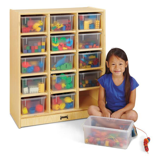 Jonti-Craft® 15 Cubbie Mobile Units