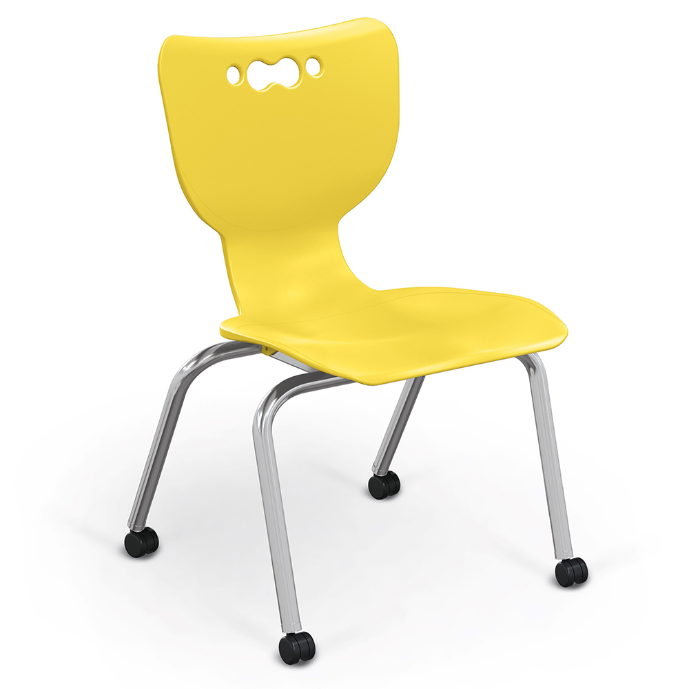 MooreCo Hieraracy 4-Leg Caster Chairs