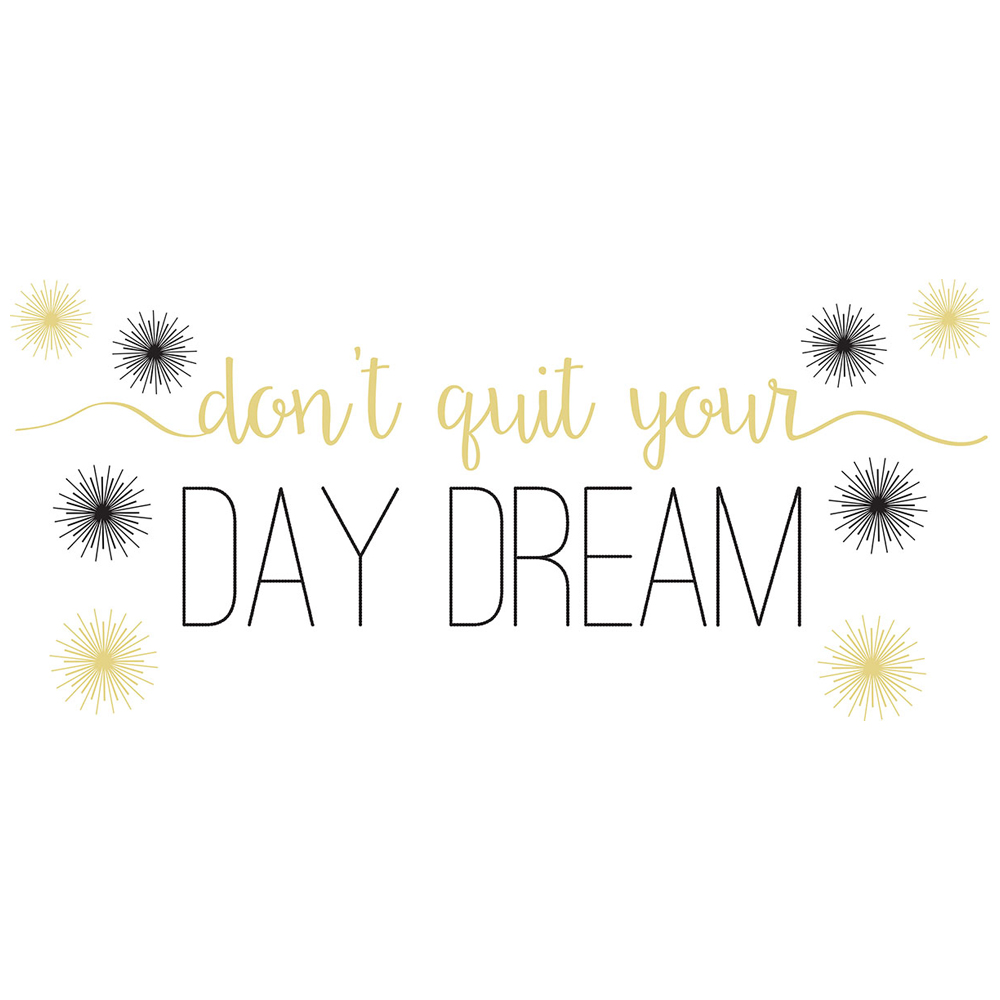WallPops!®  Day Dream  Wall Quote Decal - CLEARANCE -  Save 58%