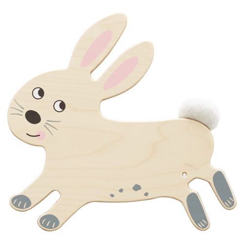 HABA® Wooden Play Wall Decoration- Rabbit Sensory