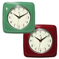 Square Retro Wall Clocks