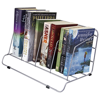countertop book rack