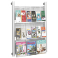 SAFCO® Luxe™ Literature  Rack - 9 Pocket