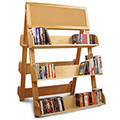 Catskill Craftsmen®  A Frame Display Rack with Cork Board
