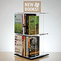 3branch magstak™ Tall Counter Display w/2 Sided Sign