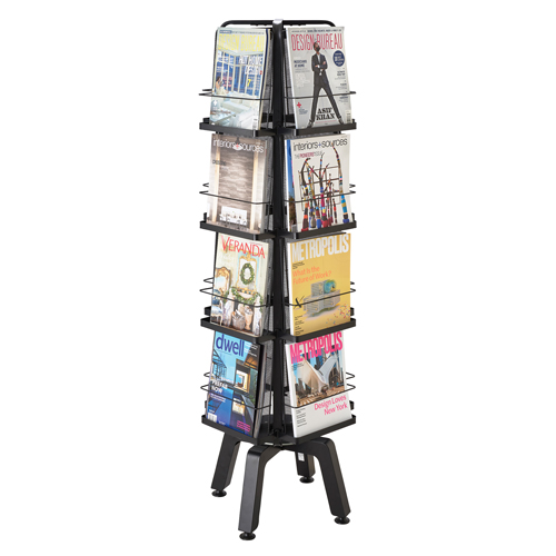 Safco® Onyx™ Mesh Magazine Stand