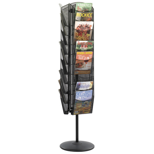 Onyx™ Revolving Mesh Magazine Display