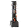 MAR-LINE® Metal Rotor Tower Stand - Single Tower 5/Tier - Square Base