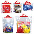 Monaco Deluxe Hang-Up Bags - Red Handle