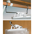Monaco Hanging Bag Brackets
