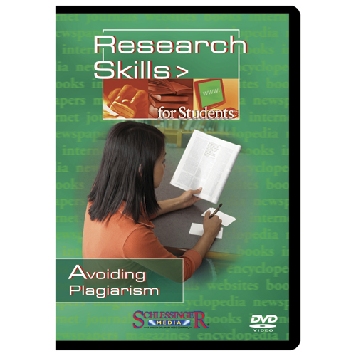 Avoiding Plagiarism Research Skills for Students DVD