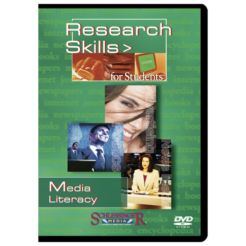 Media Literacy Research Skills for Students DVD