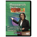 Presenting & Communicating Research- Research Skills for Students DVD