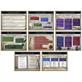 Save 58%     Study Guide Laminated Posters - 8/Set - CLEARANCE