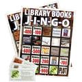 Library Books J-I-N-G-O Game