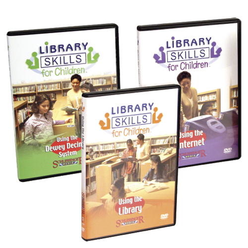 Library Skills for Children DVD Series