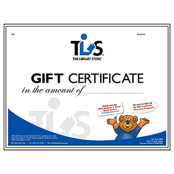 Virtual Gift Cards & Certificates - 5 different denominations