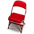 GV PRO Courtside Chairs - Folding Chair, No Logo