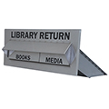 American Book Returns Thru Wall Return - Double Drop for Books & Media