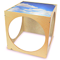 Whitney Brothers Plexi Top Play House Cube