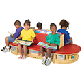 Jonti-Craft Read-a-Round 3 Piece Set