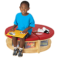 Jonti-Craft Read-a-Round Semi Circle