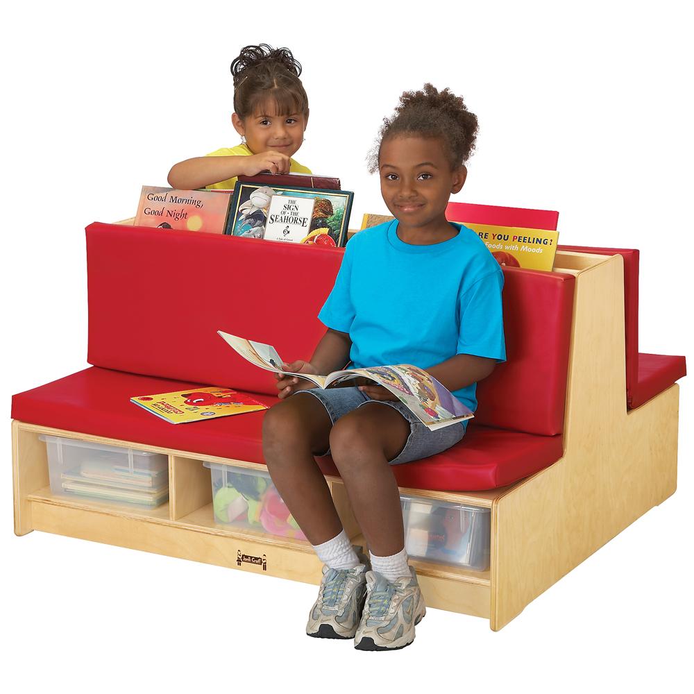 Jonti-Craft® Read-a-Round Couch