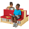 Jonti-Craft Read-a-Round Couch
