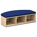 Russwood® Connector Benches - Focus Bench Open, Fabric