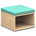 Russwood® Connector Benches - Square Open Bench, Fabric