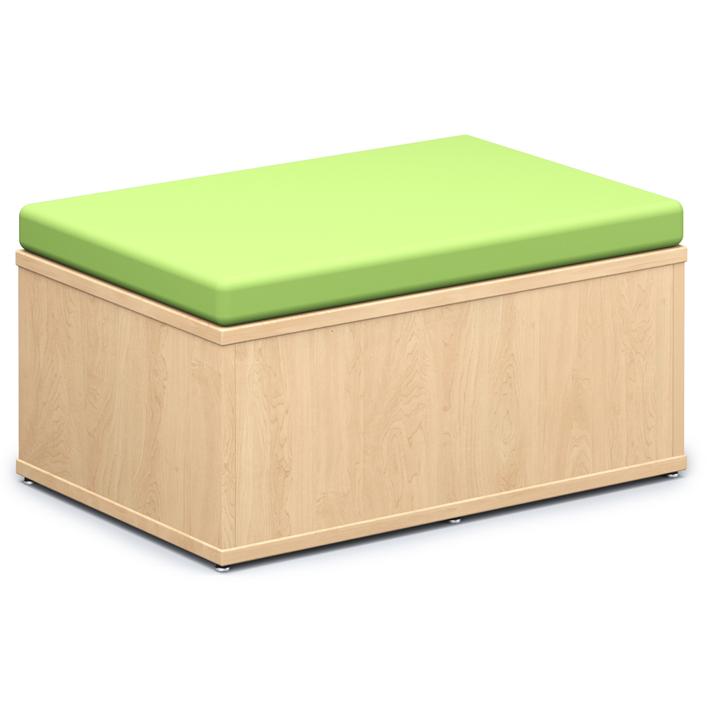 Save 49%   Russwood® Connector Benches - Rectangle Closed Bench, Fabric
