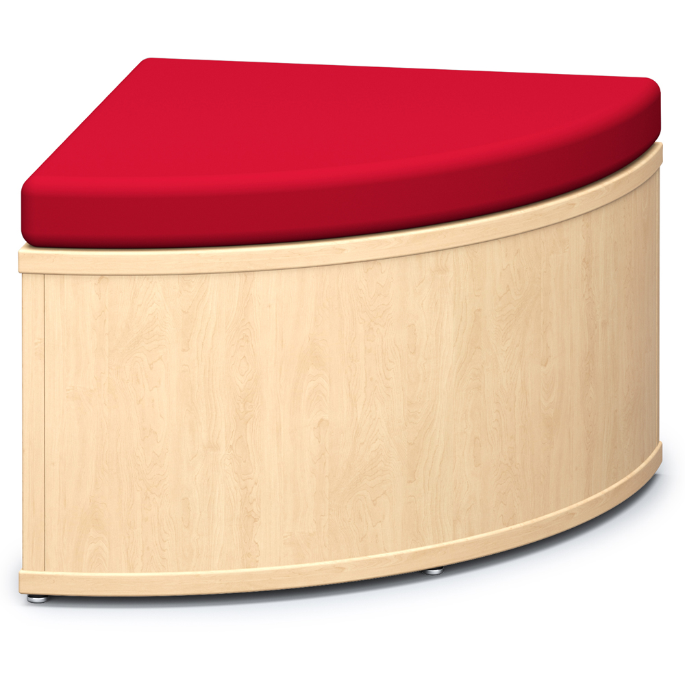 Russwood® Connector Benches - 90° Closed Bench, Vinyl