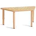Jonti-Craft® Purpose+ Tables - Trapezoid