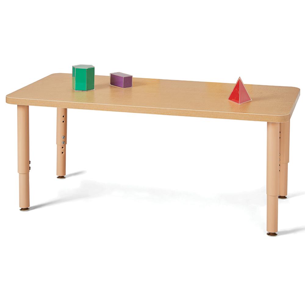 Jonti-Craft® Purpose+ Tables - Large Rectangle